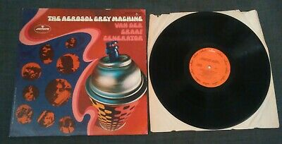 "Van Der Graaf Generator - The Grey Aerosol Machine - Rare Original U S 12"" Lp"
