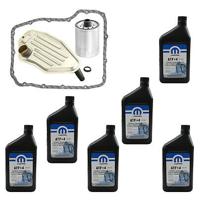 New Transmission Filter And Atf+4 Kit For Jeep Liberty Grand Cherokee