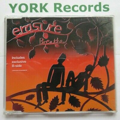 ERASURE - Breathe - Excellent Condition CD Single Mute CDMUTE330