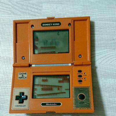 Gaming Device Game Watch Donkey Kong Used Wound Nintendo Japan