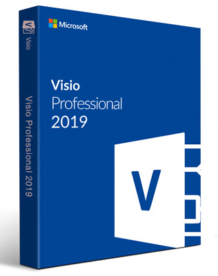 OFFICE VISIO PROFESSIONAL 2019 - PRODUCT KEY - ESD via EMAIL [ENGLISH]