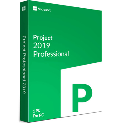 OFFICE PROJECT PROFESSIONAL 2019 - PRODUCT KEY - ESD via EMAIL [ENGLISH]