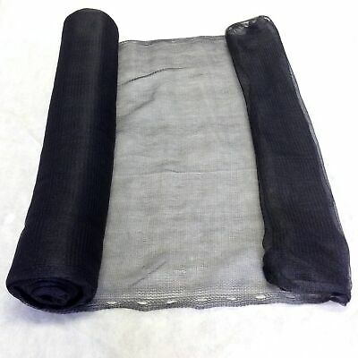 Yuzet Black Shade Debris Netting Scaffold 70gsm Heavy Duty Builders Net 2m x 50m