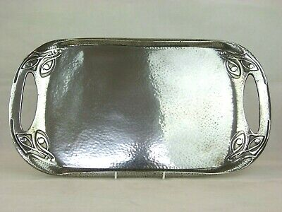 A Superb Liberty & Co Tudric Pewter Arts & Crafts Tray by Archibald Knox. 0309.