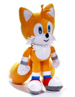 """Official Sonic The Hedgehog Tails 12"""" Large Plush Soft Toy Teddy New With Tags"""