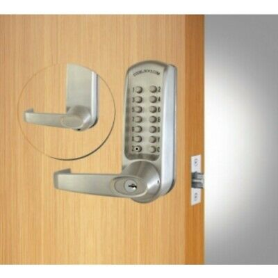 CODELOCKS CL600 Series Digital Lock With Tubular Latch - CL615 With Passage Set