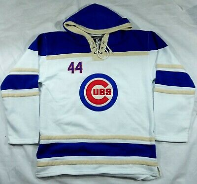sale retailer 52807 3ad49 ANTHONY RIZZO #44 Chicago Cubs Cool Base Jersey Size 48 ...