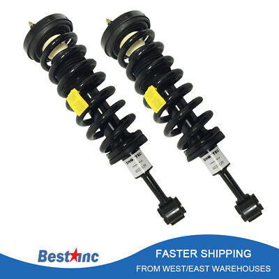 2X Quick Complete Front Struts Shock /& Coil Spring Assembly For 04-08 Ford F-150