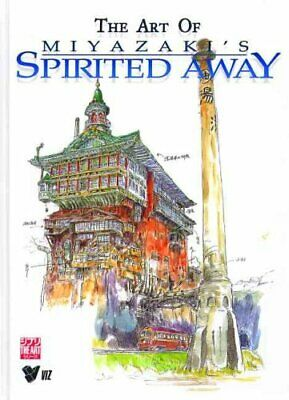 The Art of Spirited Away by Hayao Miyazaki 9781569317778 | Brand New