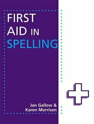 First Aid in Spelling by Karen Morrison 9781444168938 | Brand New