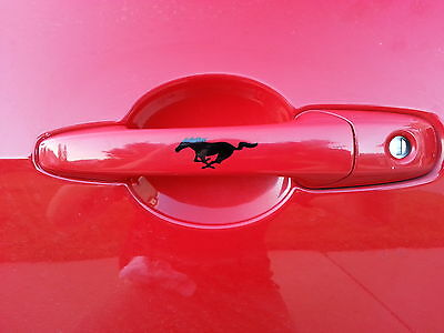 """Ford Mustang Pony Horse Vinyl Decal Sticker Car Bumper Window 61003  5.5/"""" 23/"""""""