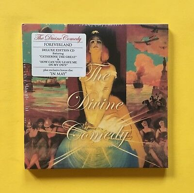 The Divine Comedy Foreverland Deluxe CD with 19-track bonus disc -.STILL SEALED!