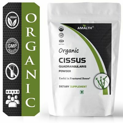 Organic Cissus Quadrangularis Powder 1000 mg  Support Bone