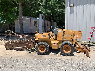 Case 460 Ride-On Trencher