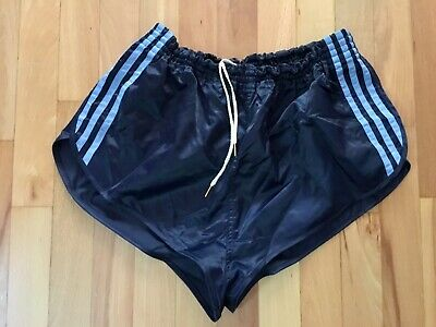 Vintage Adidas Glanz Nylon Made in West Germany Shorts D7