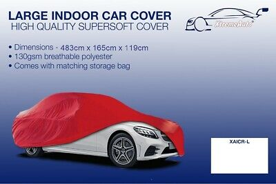 Large Red Indoor Car Cover Protector Mercedes-Benz SLS AMG 2010-2016