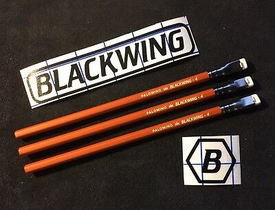 3 pieces Blackwing Pencils Vol. 4 Mars Tribute Sand Textured Red / Soft Graphite
