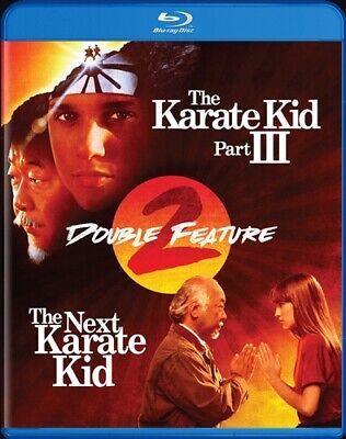 THE KARATE KID PART III + THE NEXT KARATE KID New Sealed Blu-ray Double Feature
