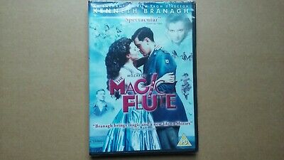 The Magic Flute - 2007 Kenneth Branagh Musical Film (DVD) NEW & SEALED