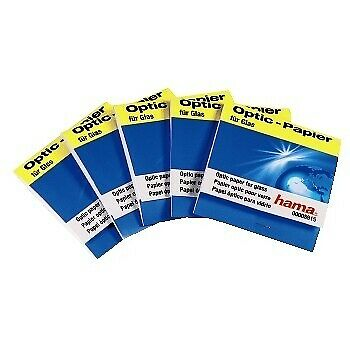Hama Optik Papier 5 Hefte a 30 Blatt Lens Cleaning Tissues
