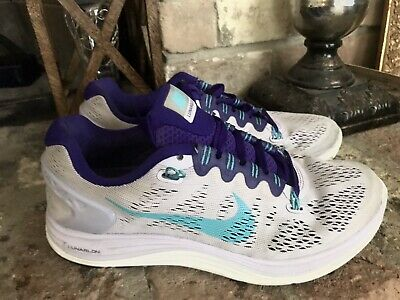 e24f9166ad287 Nike Lunarglide 5 Running Shoes Womens Size 7 (Purple/Grape) 599395-501