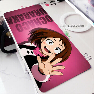 Anime Mouse pad My Boku no Hero Academia OCHACO URARAKA Gaming Play Mat Mice pad