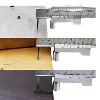 0-200mm Marking Vernier Caliper With Carbide Scriber Parallel Marking Gauging