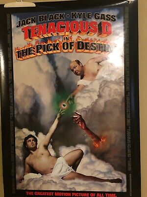 Tenacious D In 'The Pick Of Destiny' (2006) Original Movie Poster  - Rolled  2-S