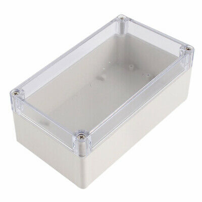 Waterproof Clear Cover Plastic Electronic Project Box 158x90x60mm C2R3