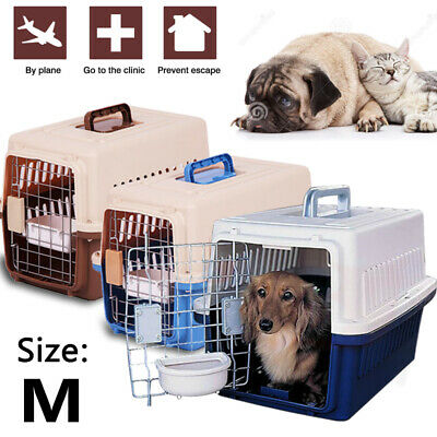 Pet Carrier Portable Tote Crate Case Kennel Travel Carry Airline Approved Bag