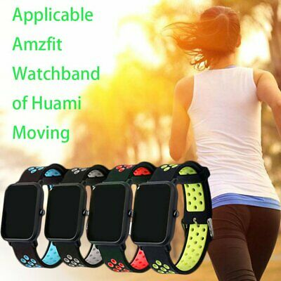 Stylish Replacement Watch Band For Amazfit Bip Silicone Watch Band Accessories Q