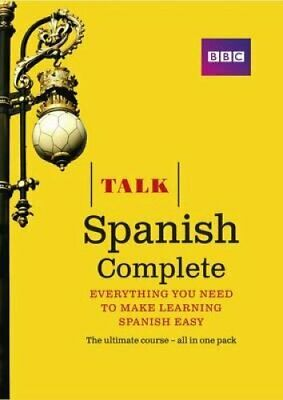 Talk Spanish Complete (Book/CD Pack) Everything you need to mak... 9781406679243