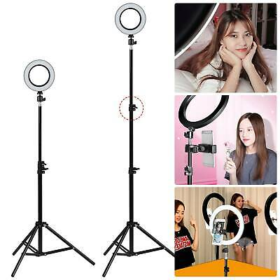 """6"""" 16CM LED Ring Light With Stand Dimmable Lighting Kit For Makeup Youtube Live"""