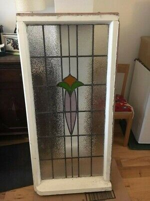Stained Glass Window with spare leaded lights