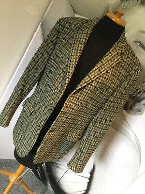 Handsome Gents Vintage Tailored MAGEE Donegal Tweed Sports Jacket Country Blazer
