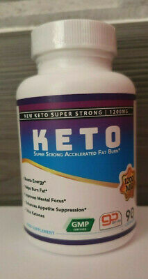 Keto  Diet Pill Capsules Weight loss supplement fat burn carb block ketosis!