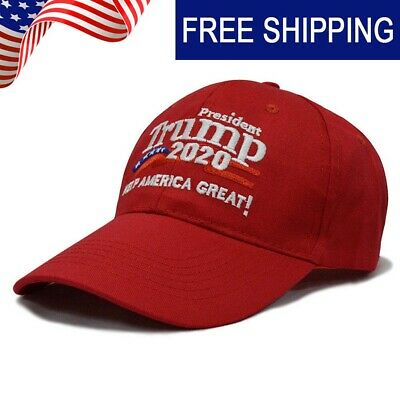 Donald Trump 2020 Keep Make America Great Cap President Election Hats Red SD88