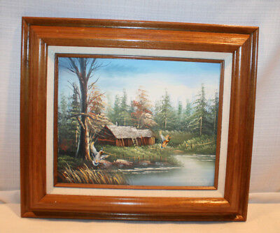 Beech Street Art Company Original / Signed Painting Appraised Frame / 1997