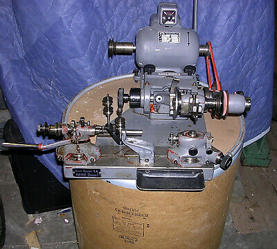 HENRI HAUSER   Pivot Polisher Burnishing Machine Type 191 WITHMANUAL