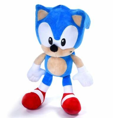 """Official Sonic The Hedgehog Sonic 12"""" Large Plush Soft Toy Teddy New With Tags"""