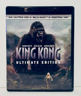 King Kong - 2005 - 4K UHD & Blu-Ray - 3-Discs - Ultimate Edition - Peter Jackson