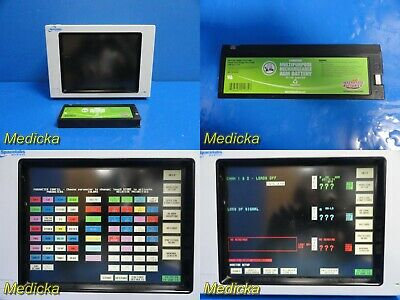 Spacelabs 90369 Medical Patient Monitor W/ AGM Battery ~ 18242