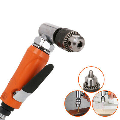 """1/2"""" Chuck Pneumatic Air Drill Right Angle for Drilling Wood Home Tool 700RPM"""
