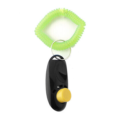 10X(Dog Pet Training Clickers education,Black F3Z2)