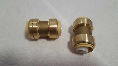 """1"""" Coupling Push Fitting~~Bag of 5~LEAD FREE!"""