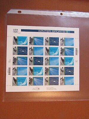 US Postage Stamps .34 Cent Commemoratives Winter Olympics 3553-55