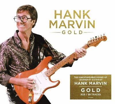 Hank Marvin - Gold - New 3 CD Boxset / Free Delivery The Shadows Cliff Richard