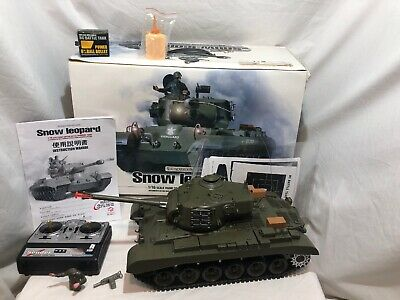 Remote Control Tank - Snow Leopard US M26 Pershing RC Henglong