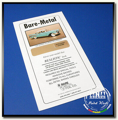 Bare Metal Foil - Ultra Bright Chrome BMF-004