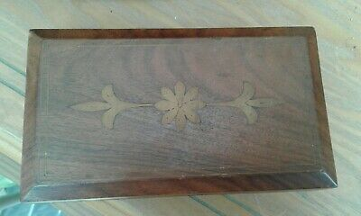 Beautiful ..STORAGE BOX...(wooden/hinged lid)..GOOD CONDITION......